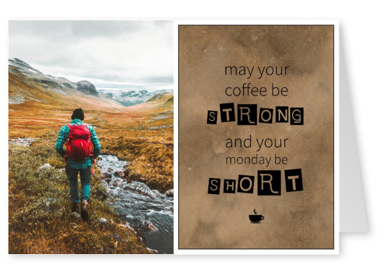 monday morning quote postcards