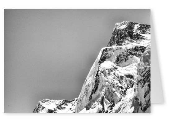 postcard Mount Everest