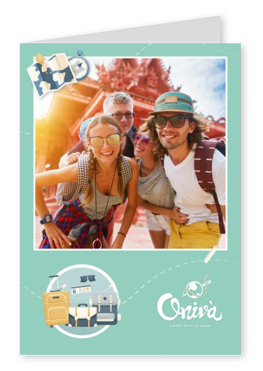 Onivà photo greeting card Multitravel