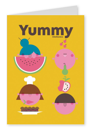 Del Hambre Illustration yummy