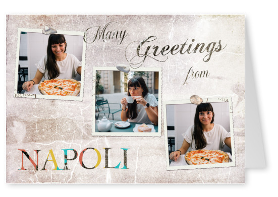 Many greetings from Napoli
