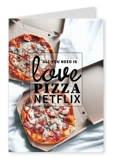 pizza in bed netflix quotes