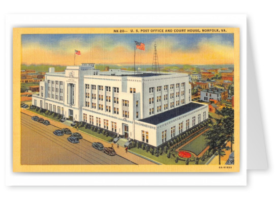 Norfolk, Virginia, US Post Office and Court House