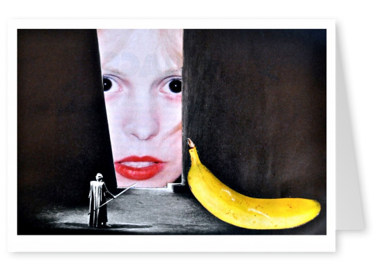 Collage by Belrost with banana
