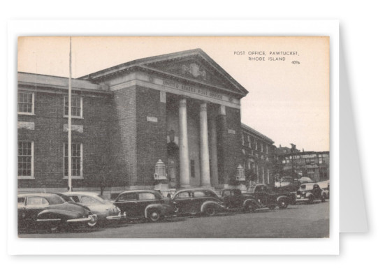 Pawtucket, Rhode Island. Post Office