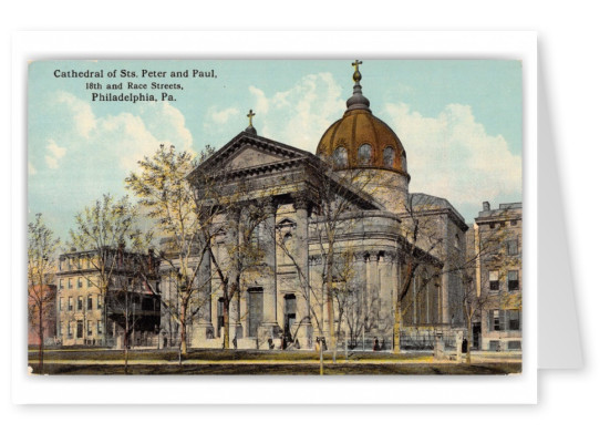 Philadelphia, Pennsylvania, Cathedral of Saints. Peter and Paul