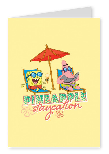Pineapple Staycation! - Spongebob and Patrick