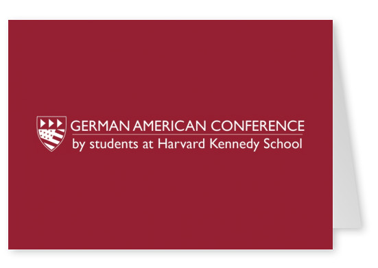 German American Conference plain red