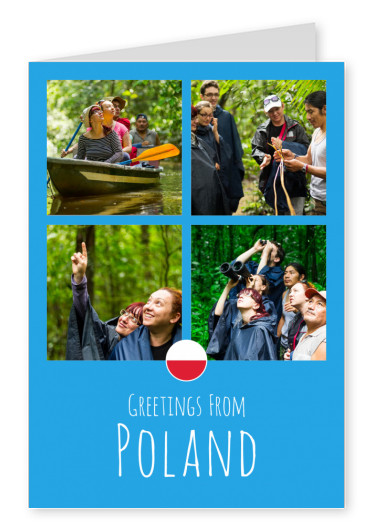 postcard Greetings from Poland