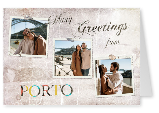 Many greetings from Porto