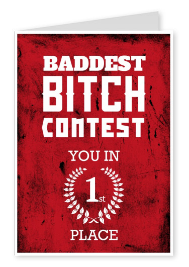 Quote Baddest bitch contest