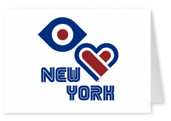 illustration Eye-love New York
