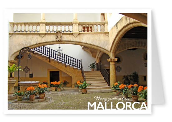 Photo of Mallorca showing an old house