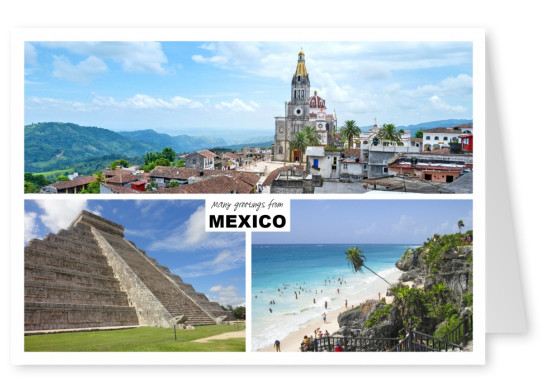 Three photos of mexico