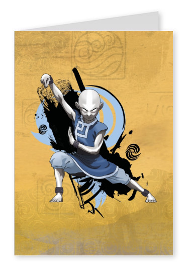 AVATAR: The Last Airbender postcard