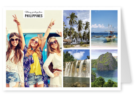 Nature landscapes of the Philippines in four photos