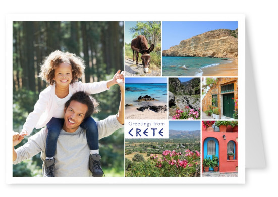 Crete photocollage