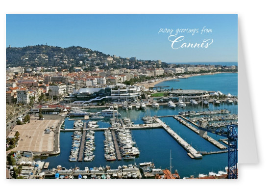 photo of cannes beach boulevard in the evening