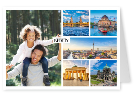 photocollage of Berlin's main places of interest