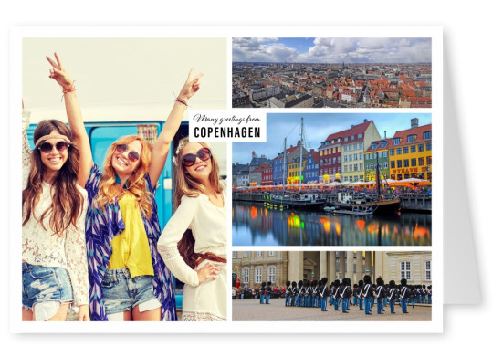 photocollage of copenhagen