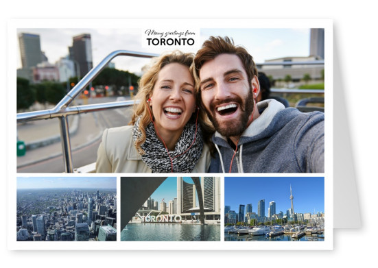 toronto photocollage with 3 pictures