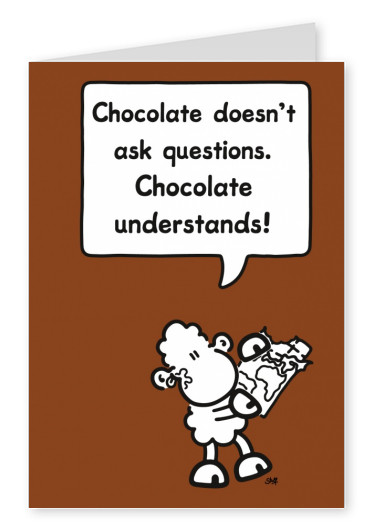 Sheepworld Chocolate Understand