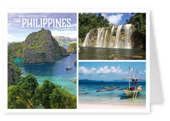 Philippines triple photo collage