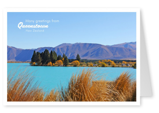photo Queenstown lake district