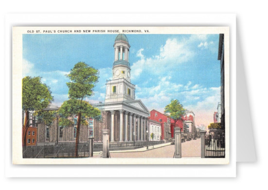 Richmond, Virginia, Old St. Pauls Church and Parish House