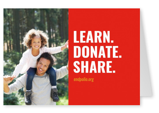 End polio now –  Learn. Donate. Share.