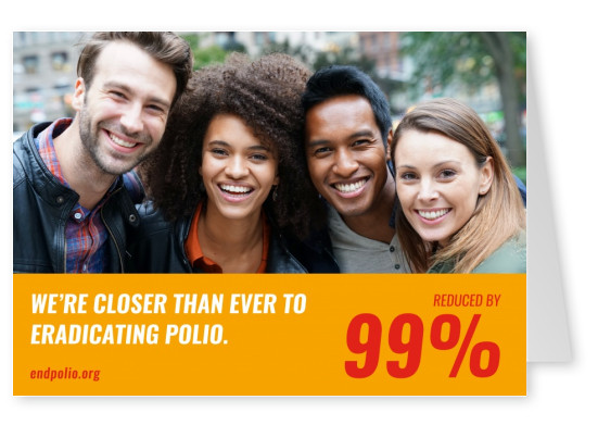 End polio now – Vaccines Work