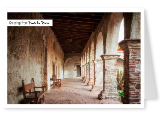Photo old Christian mission San Juan