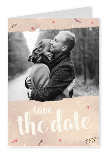 SegensArt postcard Save the date