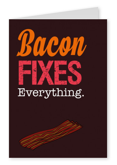 bacon graphic retro fonts