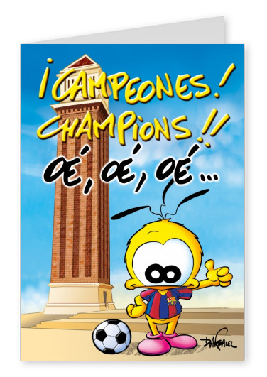 Le Piaf Cartoon Campeones!