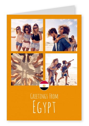 Meridian Design greetings From Egypt