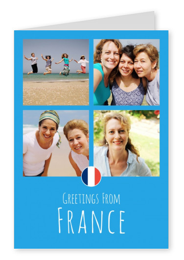 graphic blue France