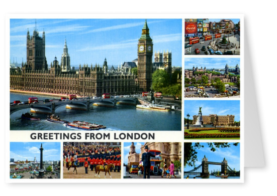 The John Hinde Archive photo greetings from London