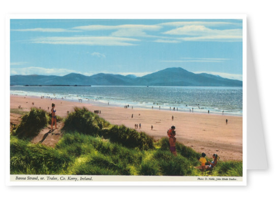 The John Hinde Archive photo  Banna Strand, Kerry, Ireland