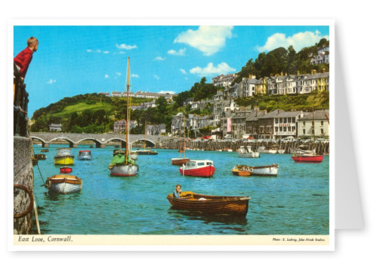 The John Hinde Archive photo East Looe, Cornwall