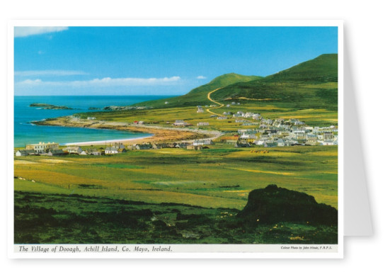 The John Hinde Archive photo Village of Dooagh, Achill Island, Mayo