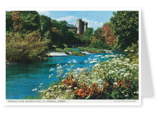 The John Hinde Archive photo Kilkenny Castle & River Nore
