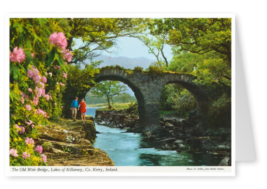 The John Hinde Archive photo The Old Weir Bridge
