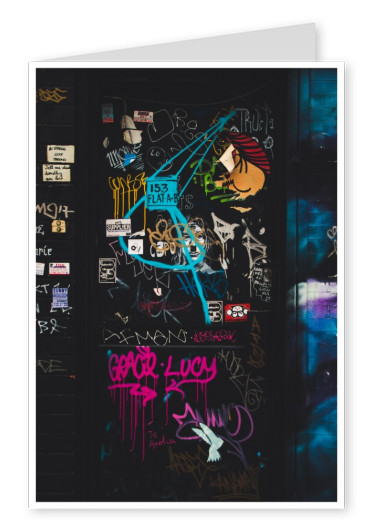 photo street-art door