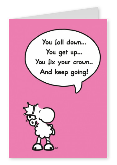 Sheepworld Fix your Crown and Keep going