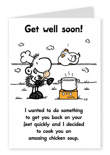 Sheepworld Get well Soon