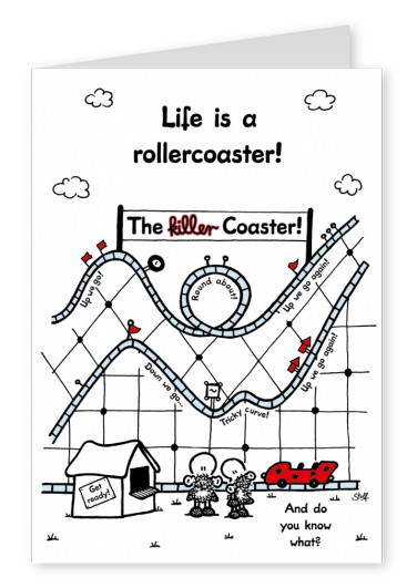 Sheepworld Life is a Rollercoaster