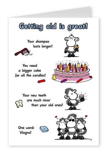 Sheepworld Getting old is Great