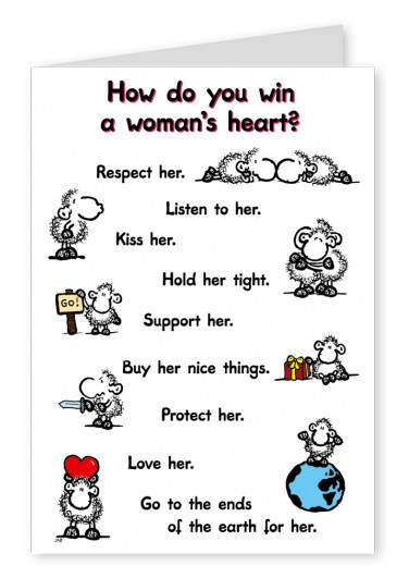 Sheepworld Win a Woman's Heart