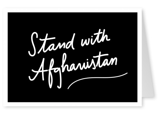 Stand with Afghanistan